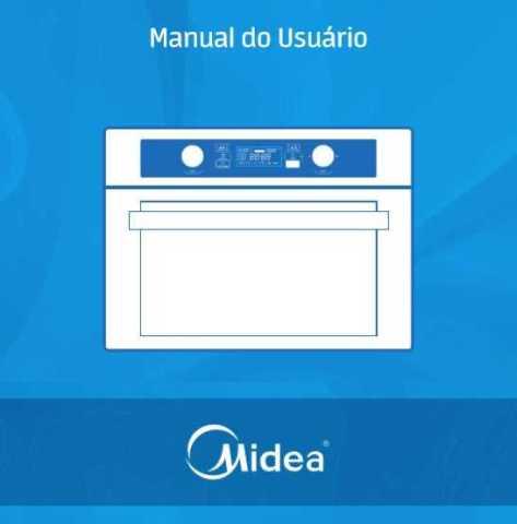 Manual de instruções de microondas Midea
