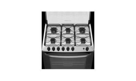 Manual de instruções do fogão de piso Electrolux 5 bocas 76BS