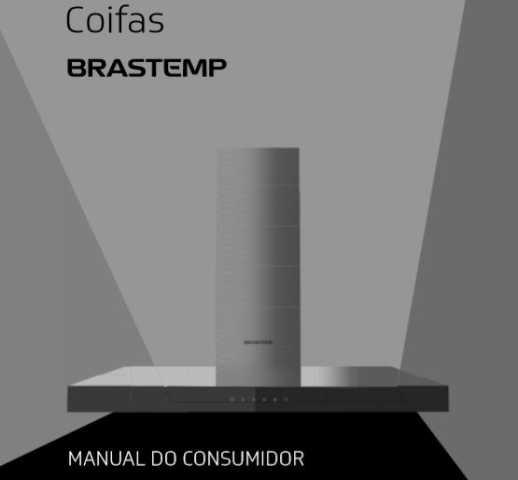 Manual de Operações da Coifa Brastemp