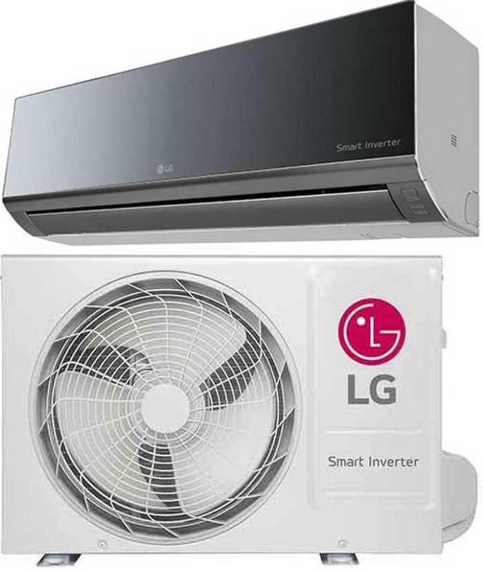 Manual de instruções de ar condicionador LG 22.000 Quente e Frio - espelhado