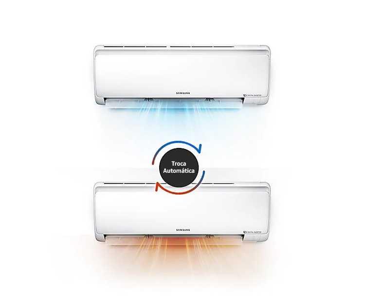 Manual do ar condicionado inverter Samsung 18.000 Btu Quente e Frio - AR18MS