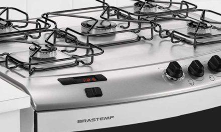 Manual de instruções do fogão Brastemp 5B piso – BFS5TAB