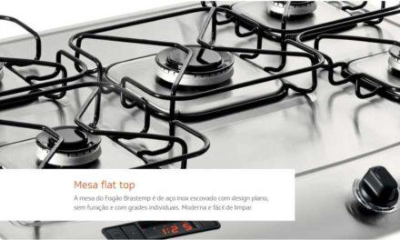 Manual de instruções do fogão Brastemp 5B piso – BFS5TAR