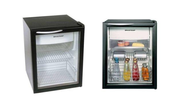 Solução de problemas frigobar Brastemp 76 litros – BZA08