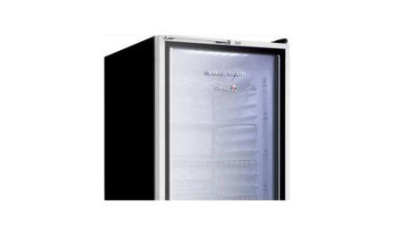 Manual de instruções do frigobar Brastemp 120L porta de vidro – BZA12