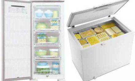 Manual de instruções do freezer Electrolux – Modelos