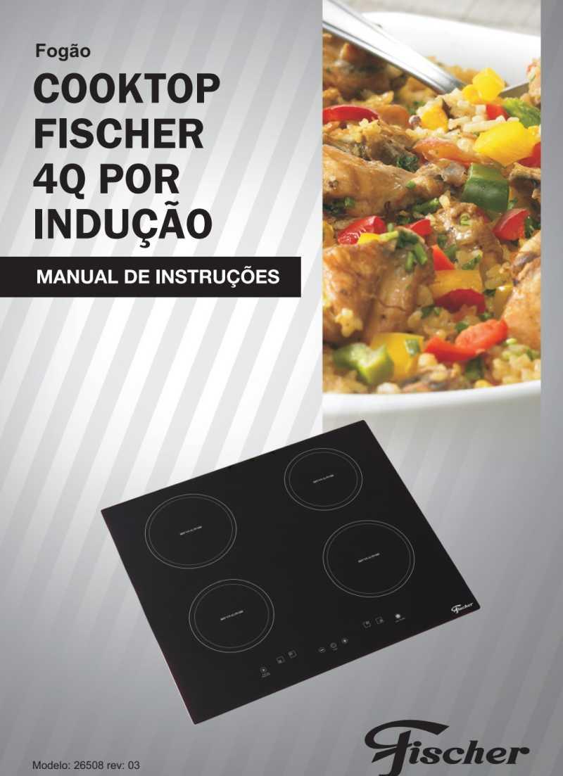 Cooktop Fischer - capa manual