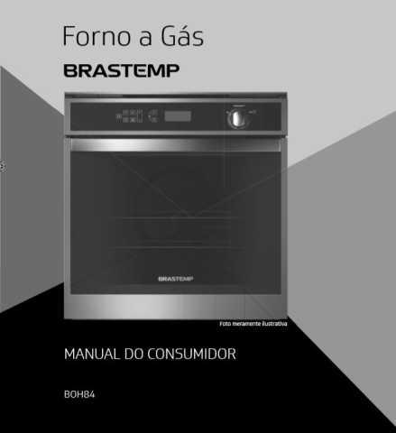 Manual de Operações do forno a gás Brastemp BOH84