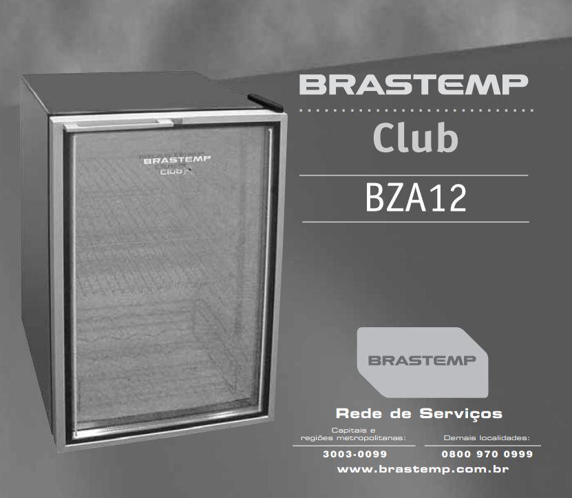 Manual de Operações do frigobar Brastemp BZA12