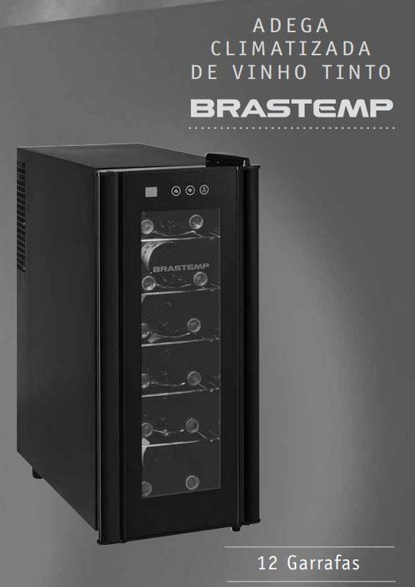 Adega Brastemp - capa manual