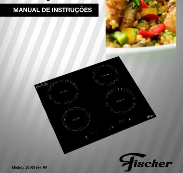 Cooktop Fischer- capa manual