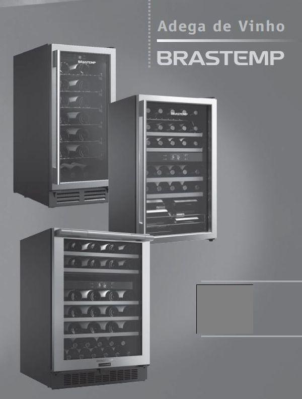 Manual de Operações da Adega Brastemp