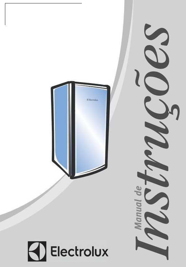Manual de Instruções da Adega Electrolux