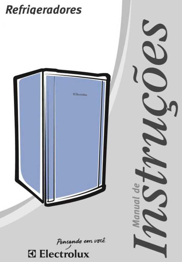 Manual de Instruções do Frigobar Electrolux