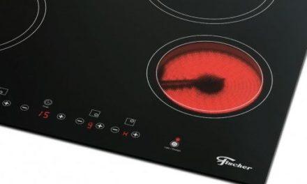Manual de instruções do cooktop elétrico 4Q Fischer – 26681