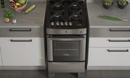 Manual de instrução do fogão Itatiaia 4B Vitrum