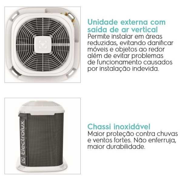 Manual de Instruções do ar condicionado Electrolux 18.000btu - VI/VE18R