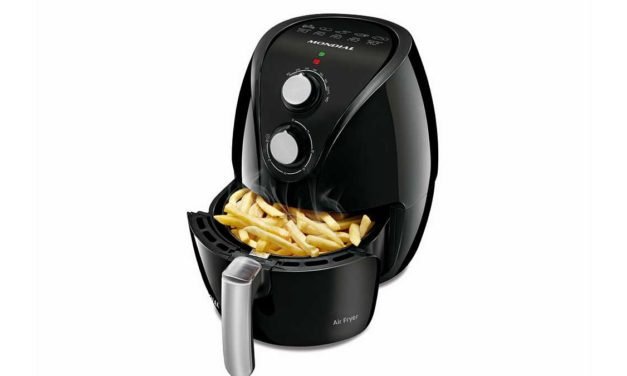 Manual da Fritadeira Air Fryer Mondial Pratic Black – AF-15