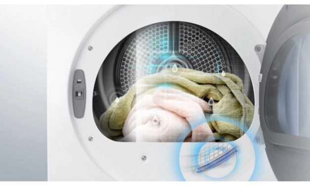Ficha técnica da secadora de roupas Samsung DV12K6800