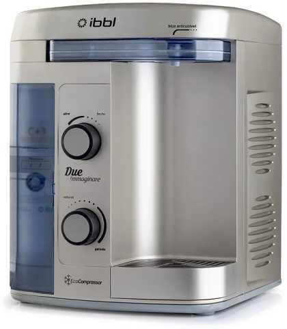 Manual do purificador de água IBBL Due Immaginare Prata