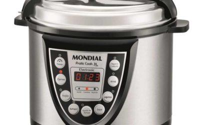 Medidas da panela de pressão elétrica Mondial 3L – PE-25