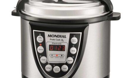 Manual da panela de pressão elétrica Mondial 3L – PE-25