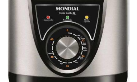 Manual da panela de pressão elétrica Mondial 3L – PE-26