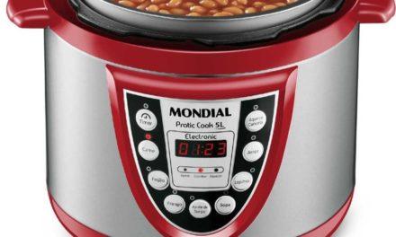 Manual da panela de pressão elétrica Mondial 5L – PE-12