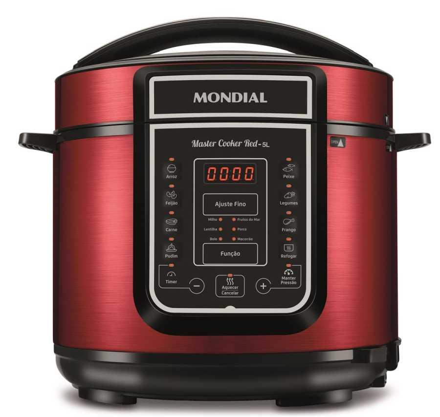 Manual da panela de pressão elétrica Mondial PE-39