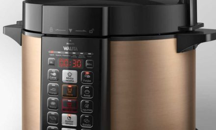 Manual da panela de pressão Philips Walita 5L – RI3136