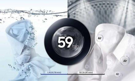 Manual da Lava e Seca Samsung 11Kg – WD11M4
