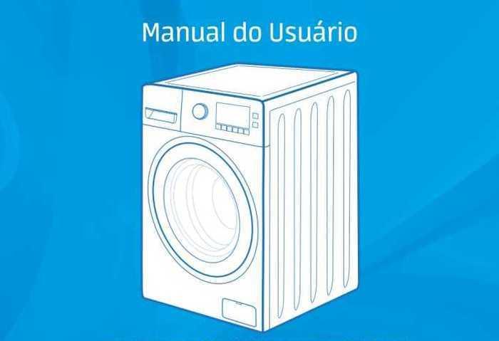 Manual de instruções da Lavadora e Secadora Midea