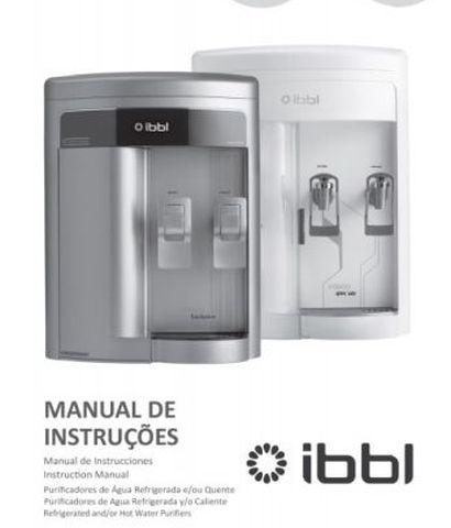Manual do purificador de água IBBL