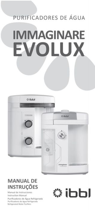 Purificador de água IBBL - capa manual
