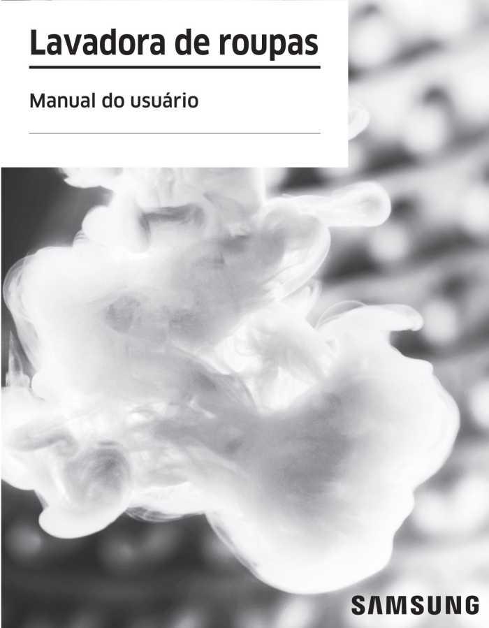 Manual da Lava e Seca Samsung WD10N6