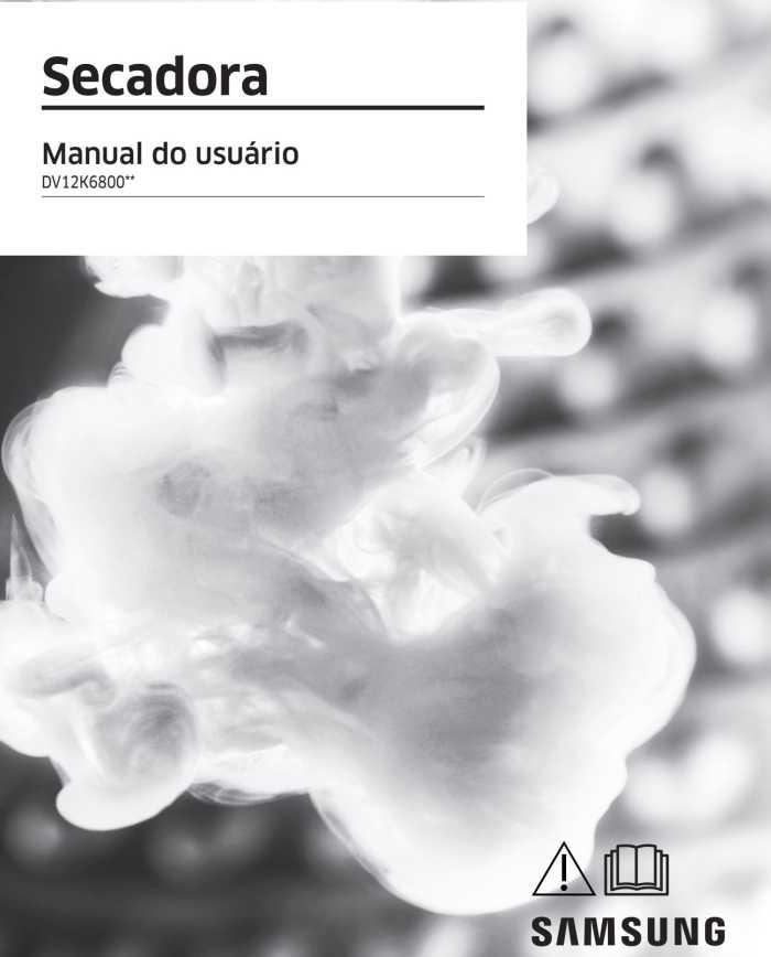 Manual da Lavado Secadora de Roupas Samsung DV15K6500