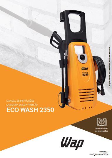 Medidas da Lavadora de Alta Pressão Wap - Eco Wash 2350