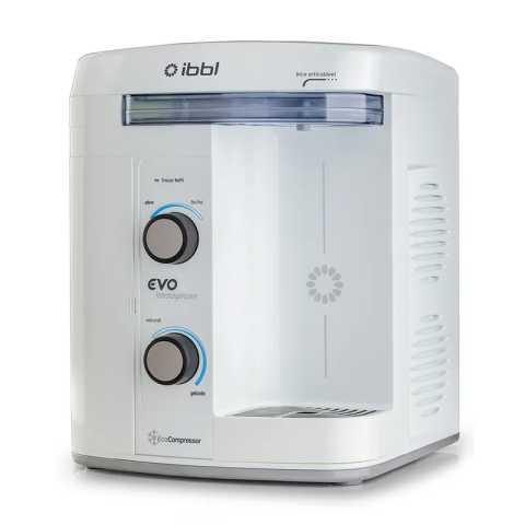 Como limpar o purificador de água IBBL Evo Immaginare Branco