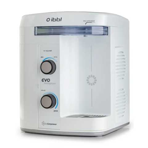 Manual do purificador de água IBBL Evo Immaginare Branco