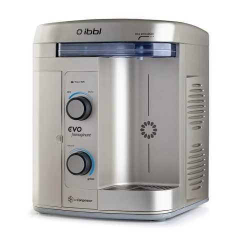 Manual do purificador de água IBBL Evo Immaginare Prata