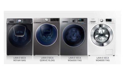 Manual de instruções da lavadora de roupas Samsung – Modelos