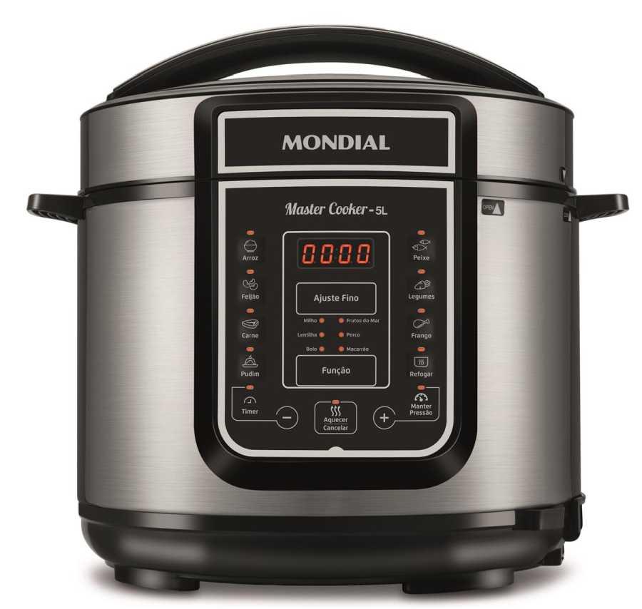 Manual da panela de pressão elétrica Mondial PE-38