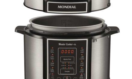 Manual da panela de pressão elétrica Mondial 5L – PE38