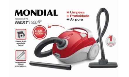 Como limpar Aspirador de pó Mondial Next 1500 – AP-12