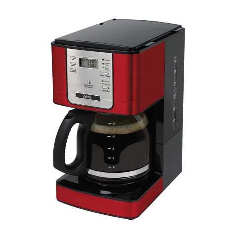 Manual de instruções da cafeteira elétrica Oster Flavor Programável Vermelha