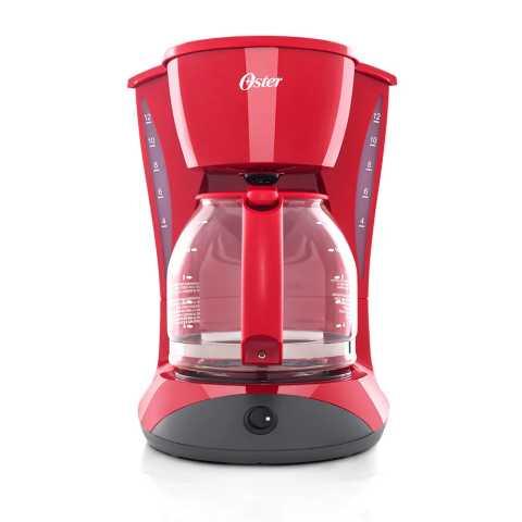 Manual de instruções da cafeteira elétrica Oster Red Cuisine 1,8L