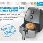 Manual da Fritadeira sem óleo Midea 4L Inox FXA4