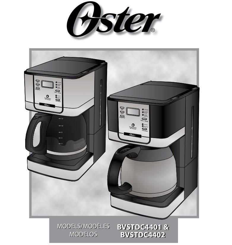 Manual de instruções da cafeteira elétrica Oster Flavor Programável