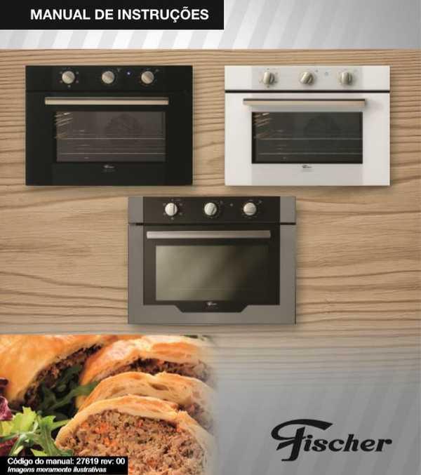 Manual de instruções do forno elétrico Fischer