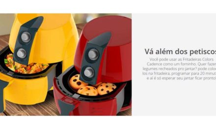 Manual da Fritadeira Sem Óleo Cadence Perfect Fryer Colors – FRT541
